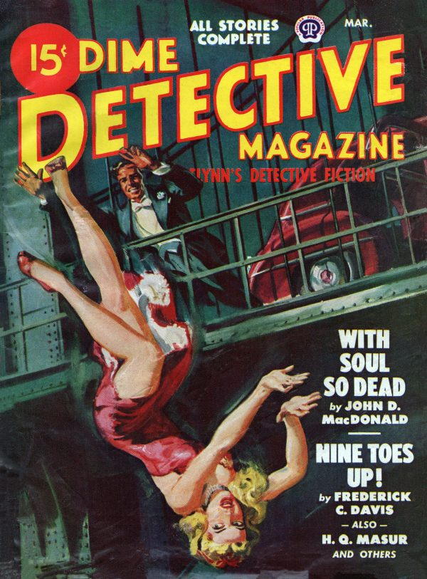 Dime Detective March 1948