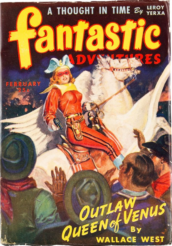 Fantastic Adventures Magazine February 1944