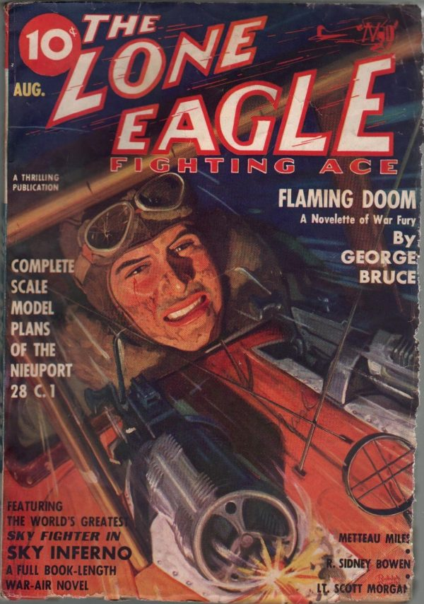Lone Eagle August 1937
