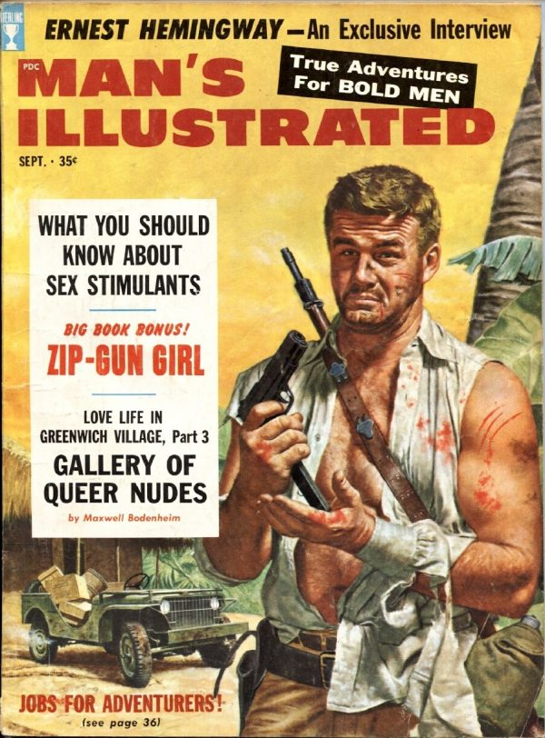 Man's Illustrated September 1958