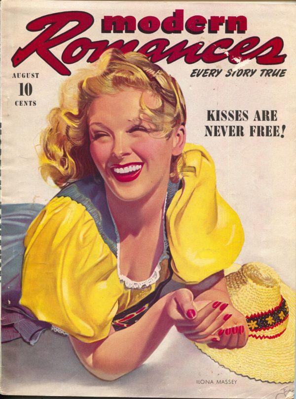 Modern Romances August 1940
