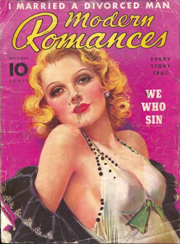Modern Romances December 1936