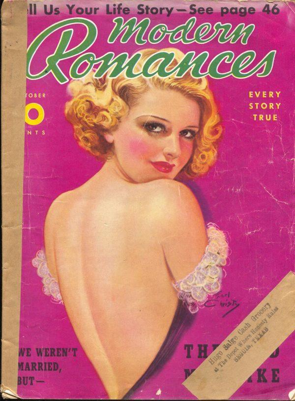 Modern Romances October 1938