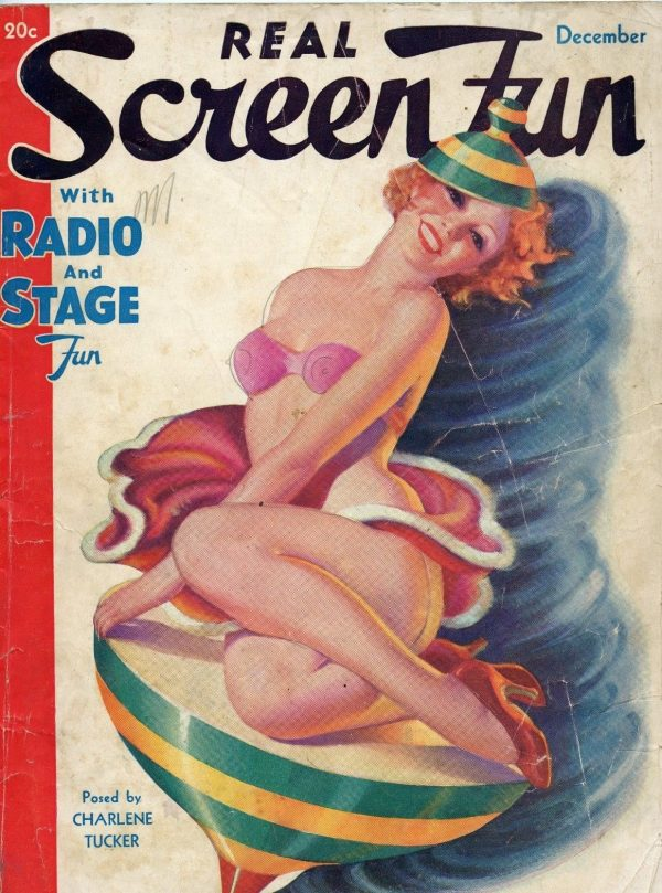 Real Screen Fun Dec 1935 December