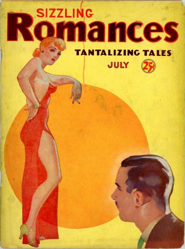 Sizzling Romances, July 1935