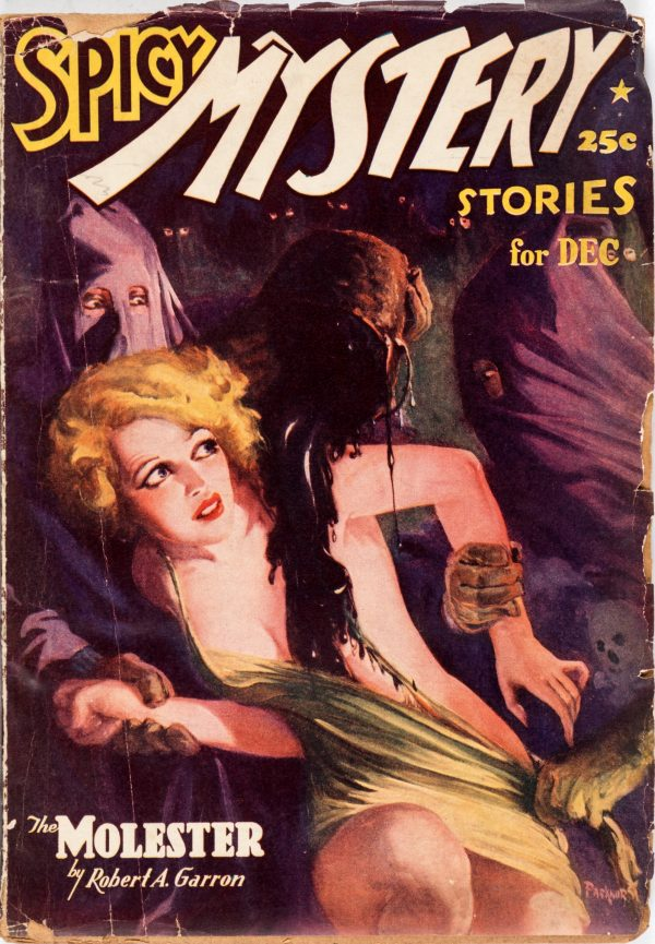 Spicy Mystery - December 1937