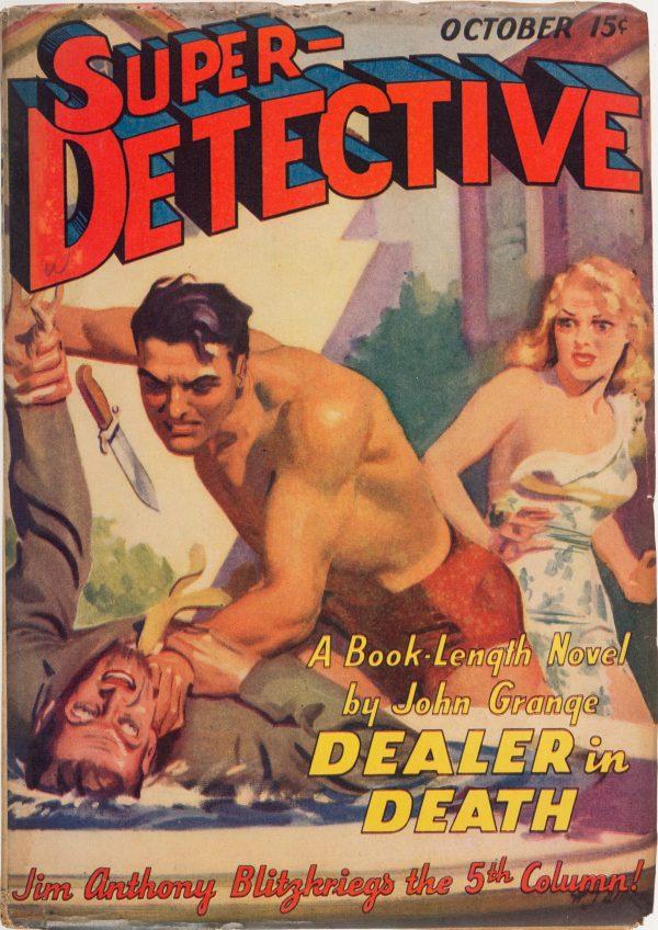 Super-Detective Stories - October 1940