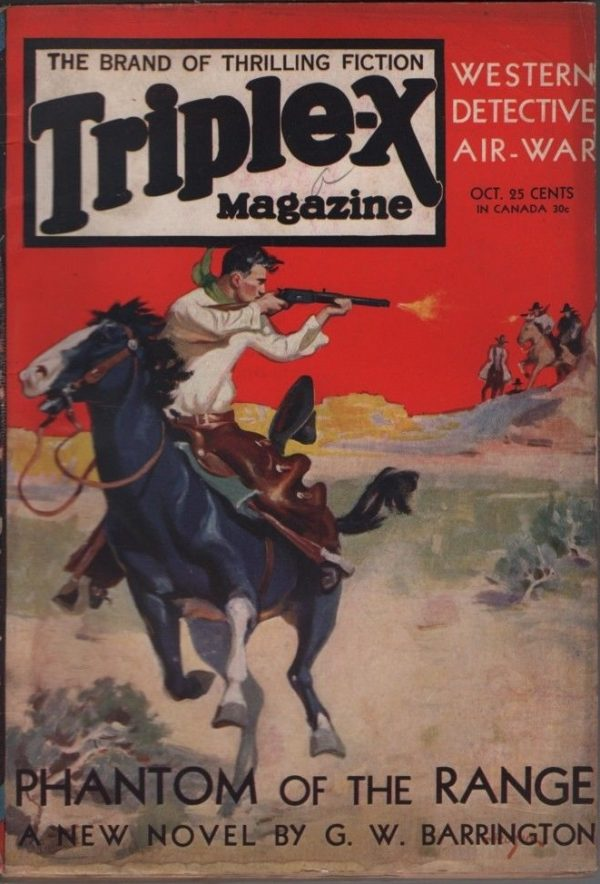 Triple-X Magazine 1930 October