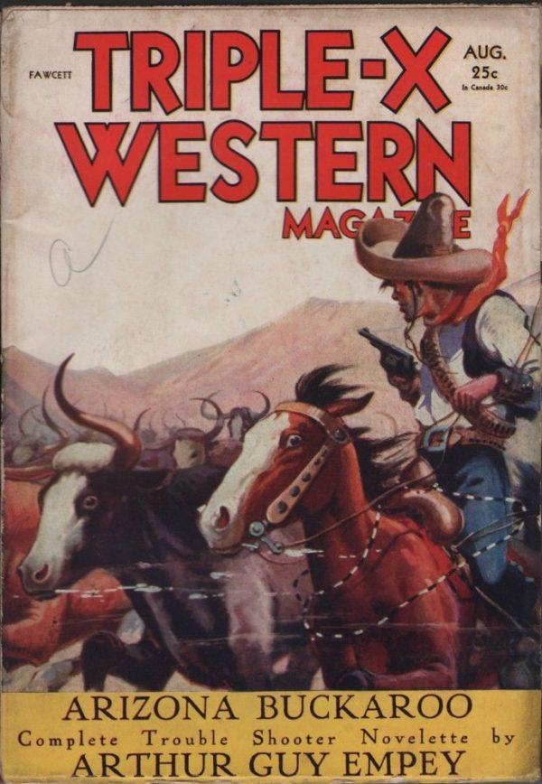 Triple-X Western Magazine 1931
