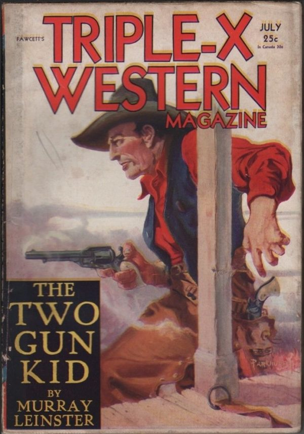 Triple-X Western Magazine 1931 July