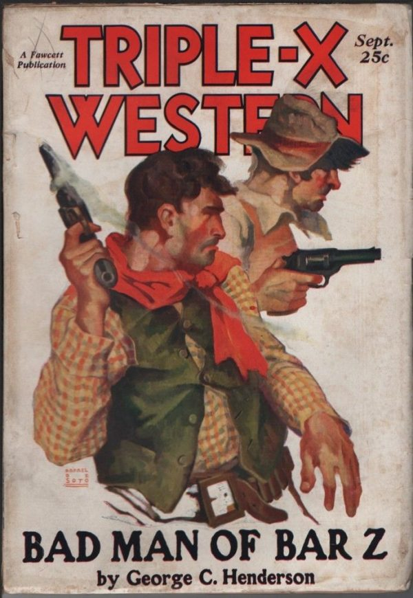 Triple-X Western Magazine 1931 September