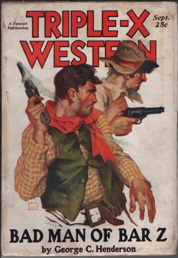 Triple-X Western Magazine 1931 September