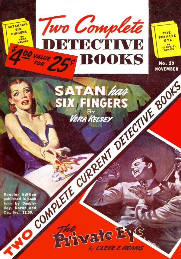 Two Complete Detective Books November 1944