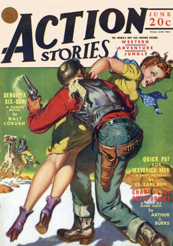 Action Stories June 1942
