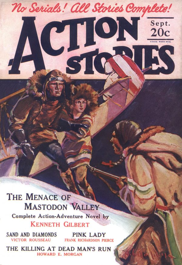 Action Stories September 1926