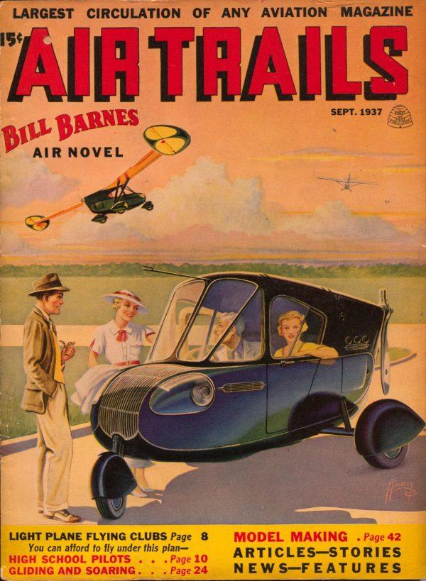 Air Trails September 1937
