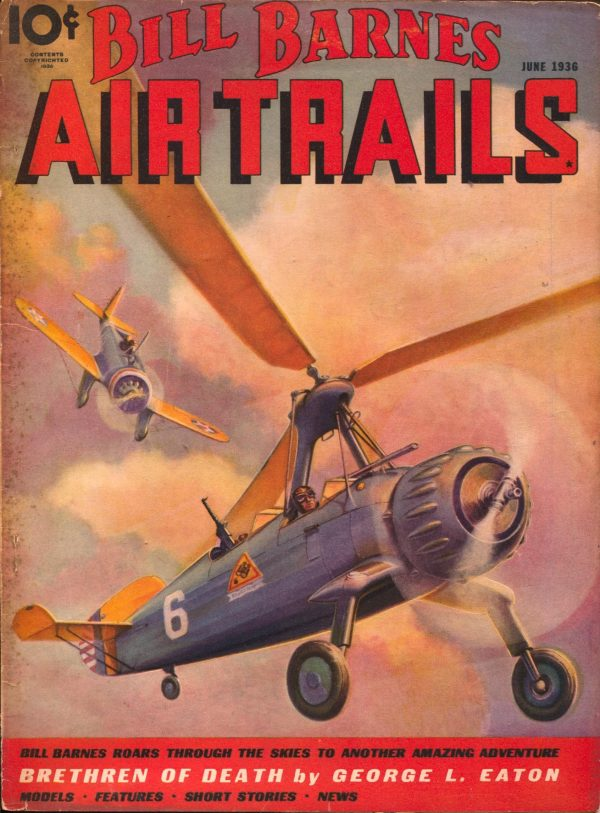 Bill Barnes Air Trails June 1936