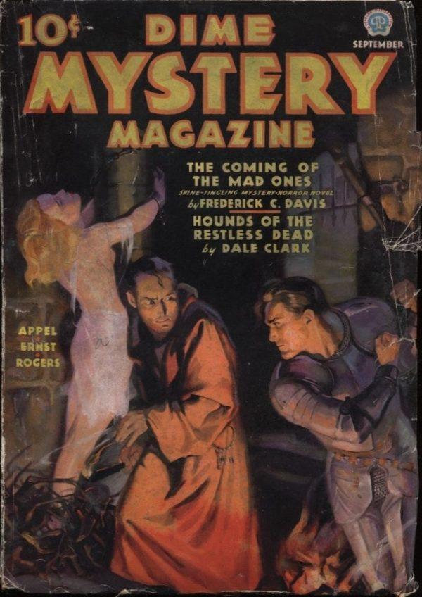 Dime Mystery Magazine, 1936 September