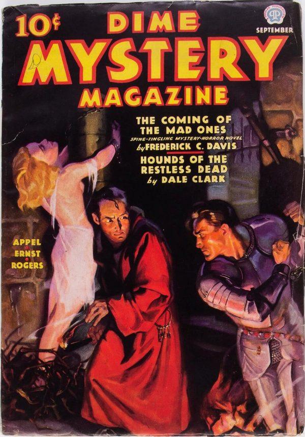 Dime Mystery Magazine - September 1936