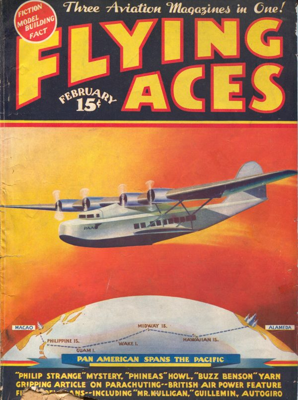 Flying Aces February 1936