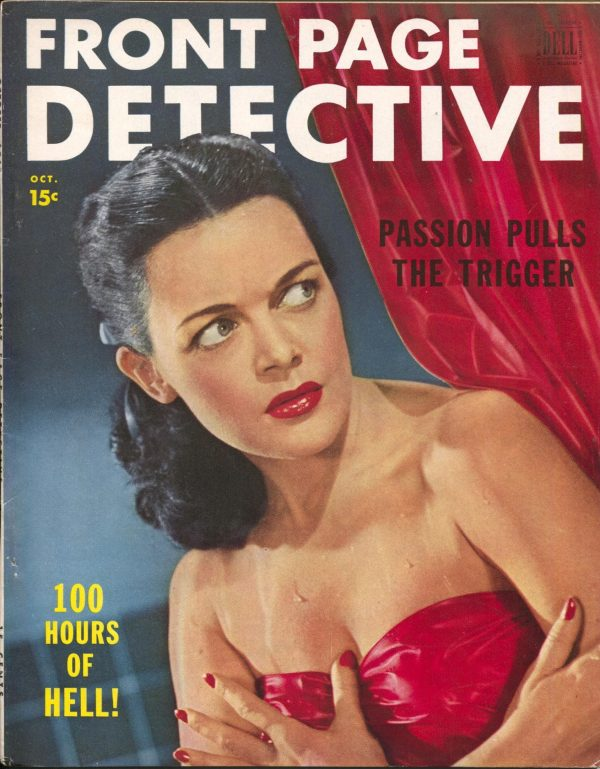Front Page Detective October 1949