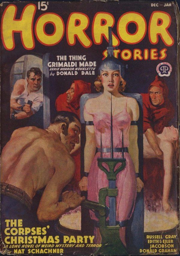 Horror Stories 1938 December