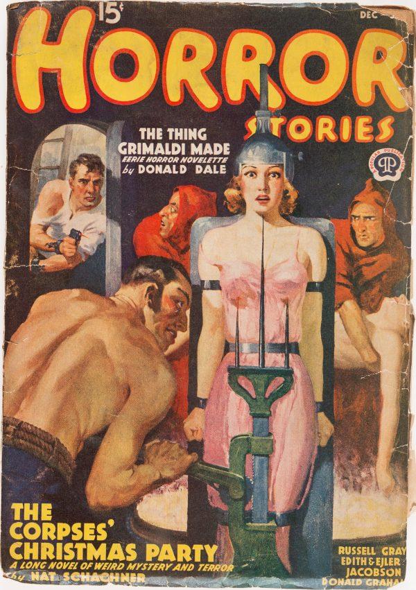 Horror Stories - December 1938