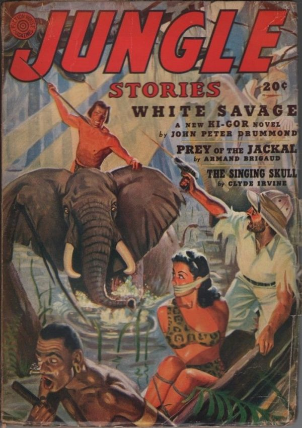 Jungle Stories 1941 Fall