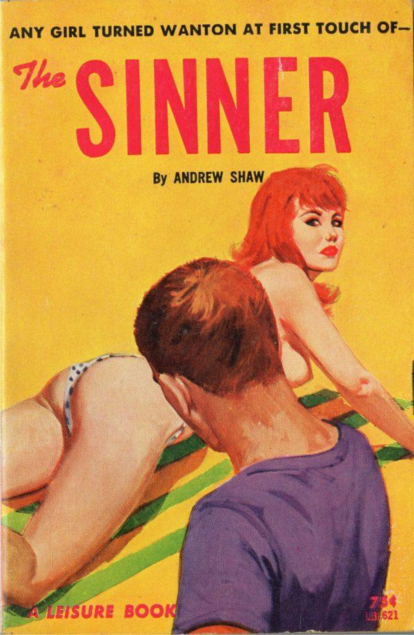 Leisure Books LB621 - The Sinner (1964)