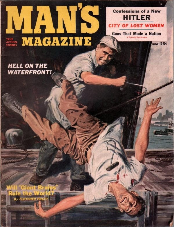 Man's Magazine Issue #5 June 1953