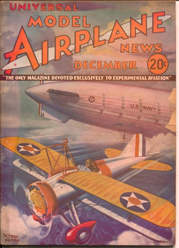 Model Airplane News December 1933