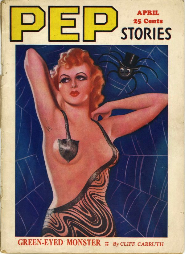 Pep Stories April 1937