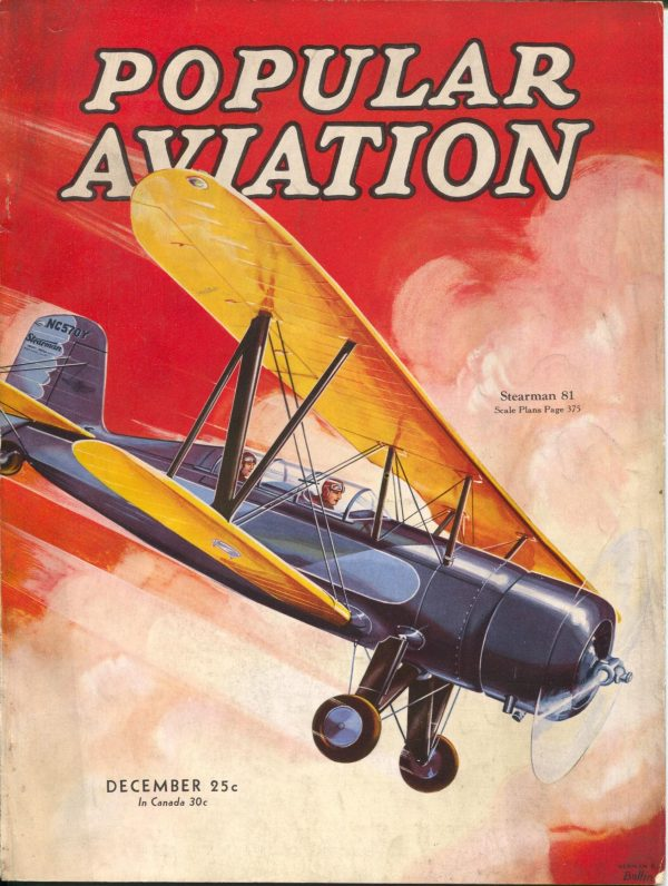 Popular Aviation December 1933