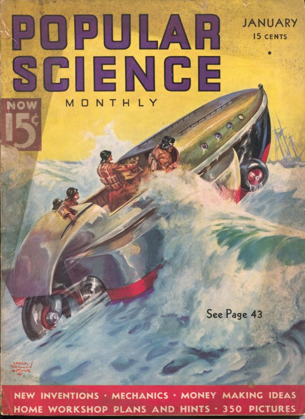 Popular Science January 1937