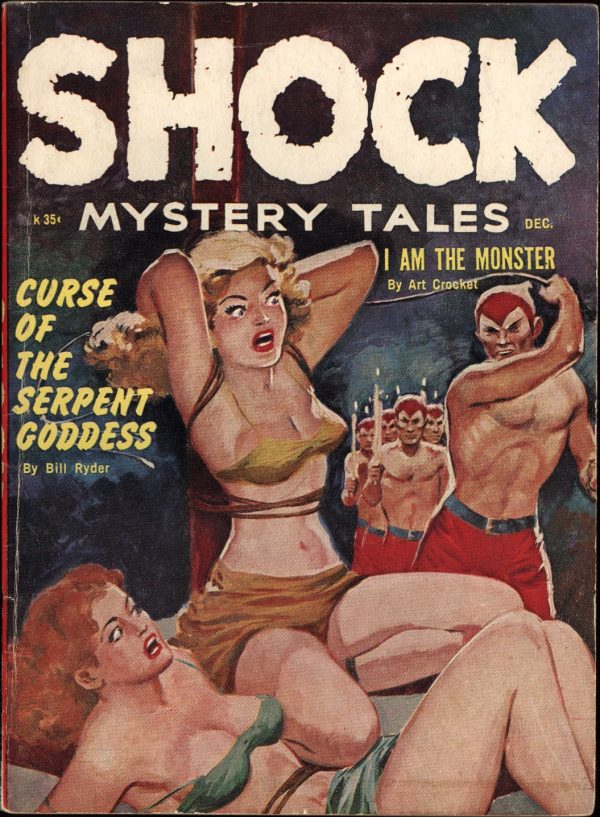 Shock Mystery Stories Dec 1961