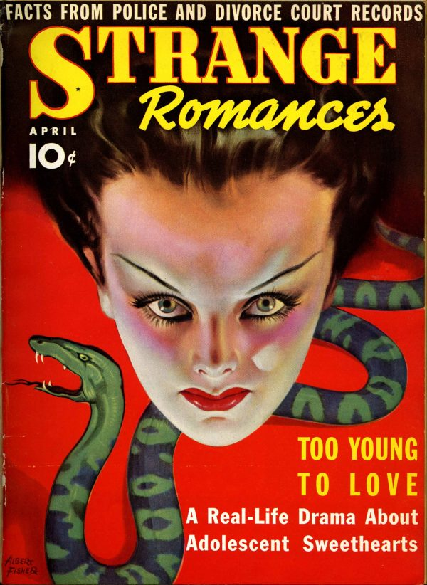 Strange Romances #3 April 1939