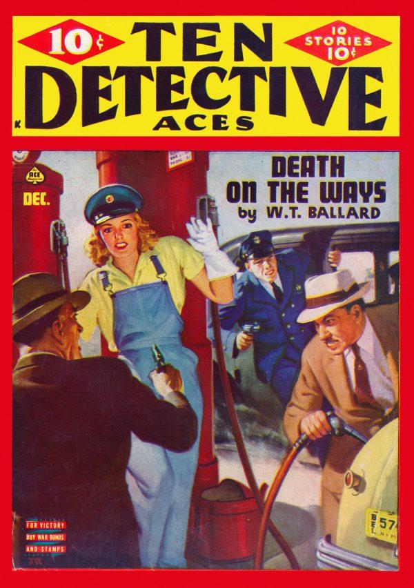 Ten Detective Aces December 1943