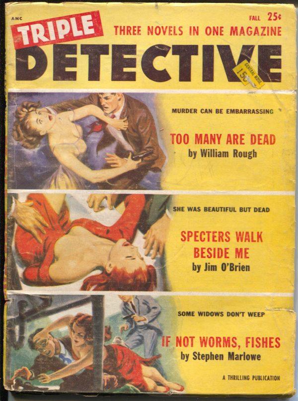 Triple Detective Fall 1954
