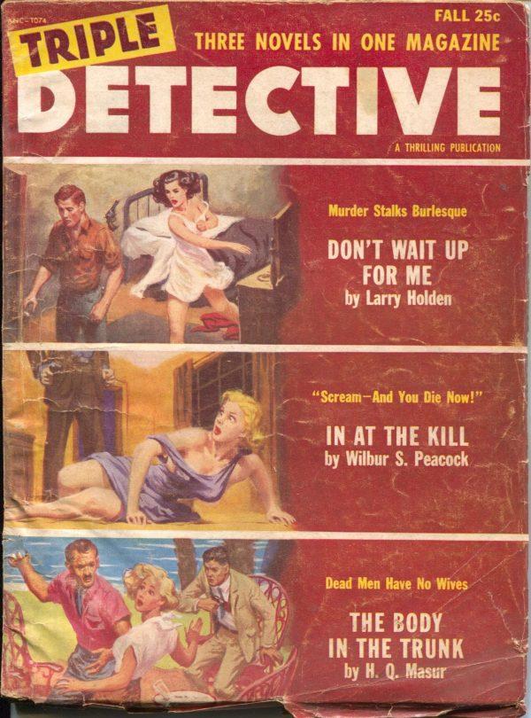 Triple Detective Fall 1955