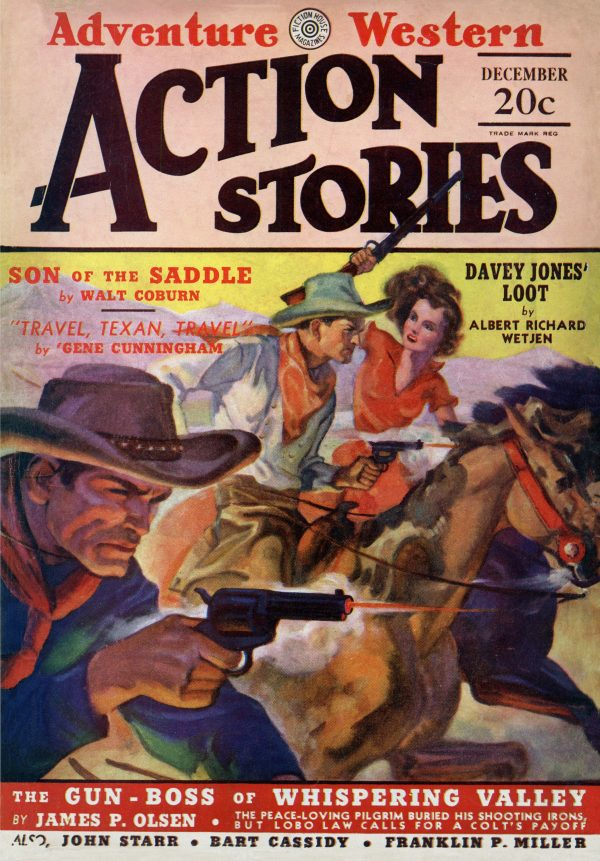 Action Stories Aug 1929