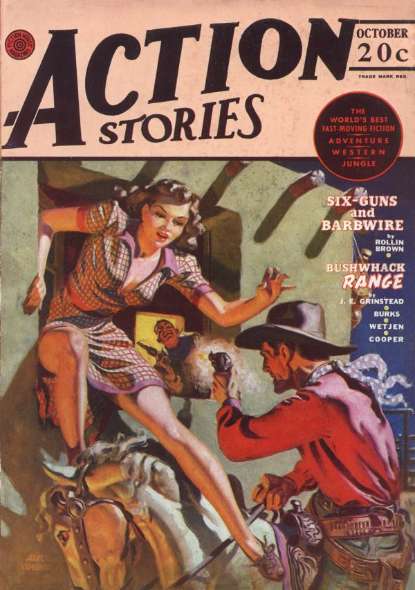 Action Stories October 1942