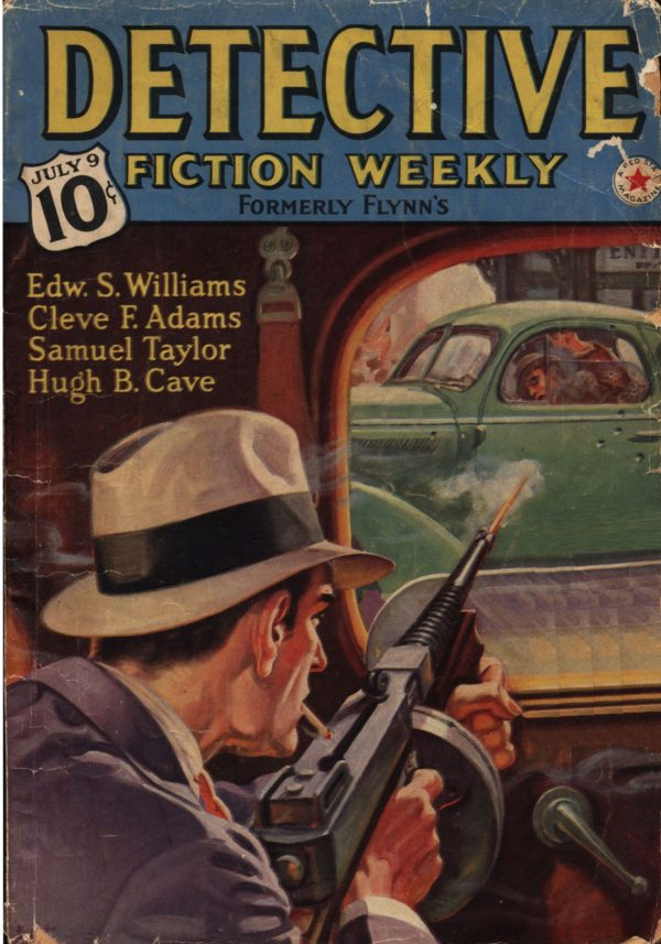 Detective Fiction Weekly July 9th 1938