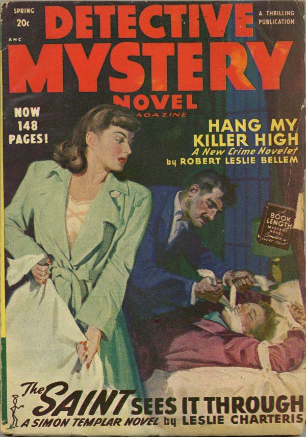 Detective Mystery Novel Magazine Spring 1948
