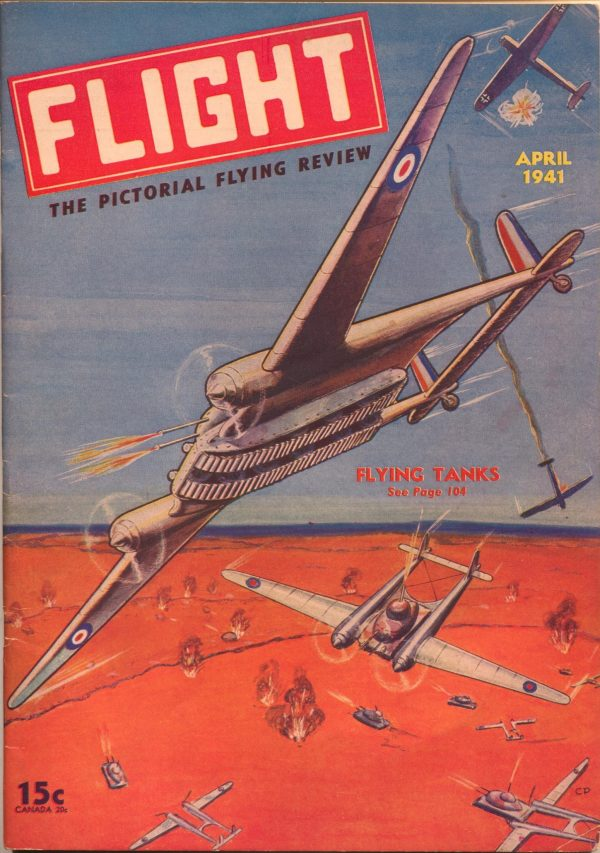 Flight Issue #4 April 1941