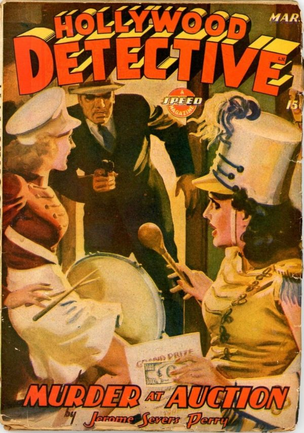 Hollywood Detective, March 1944
