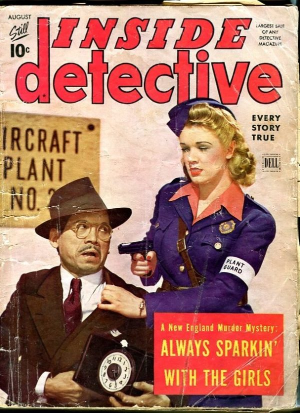 Inside Detective August 1943