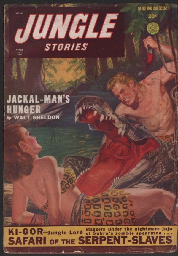 Jungle Stories 1949 Summer