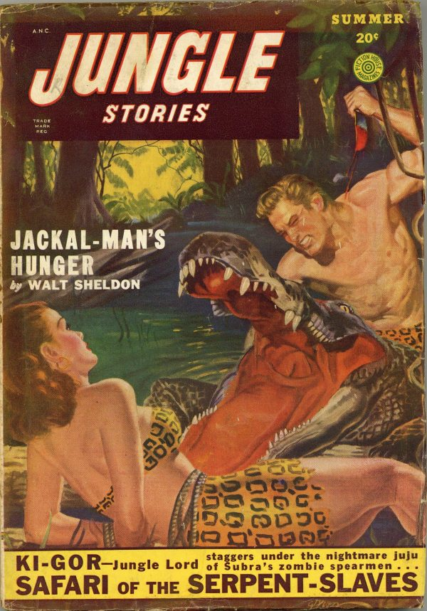 Jungle Stories June Summer 1949