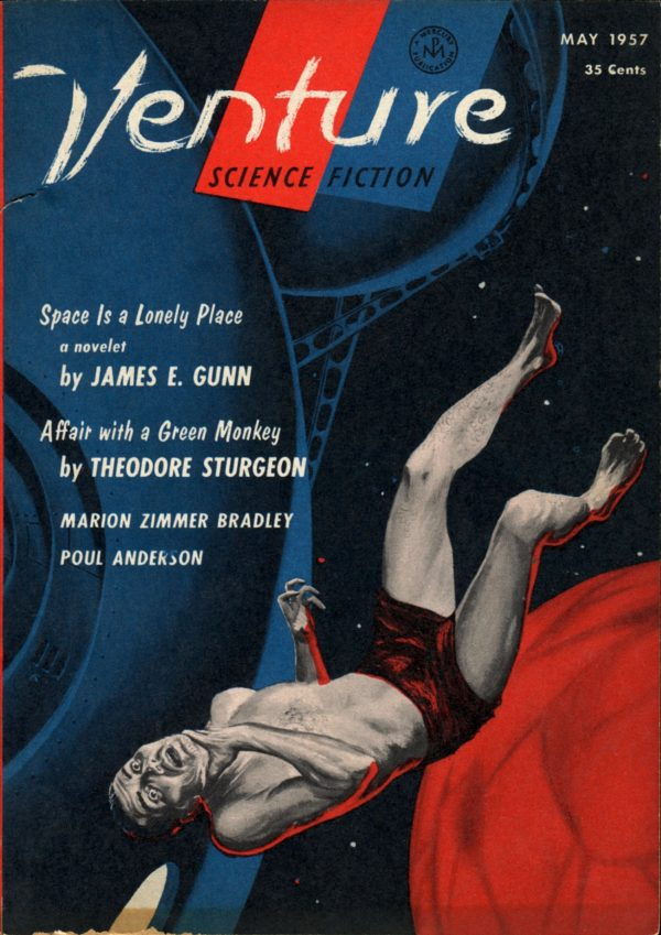 Venture Science Fiction Magazine, May 1957