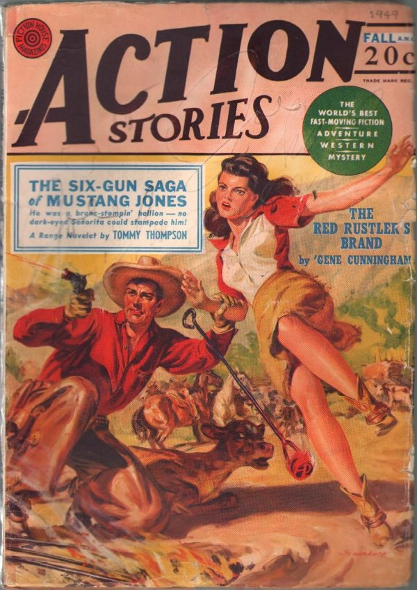 Action Stories Fall 1949